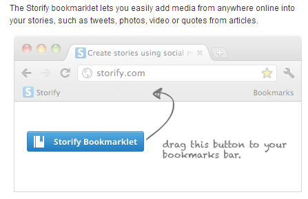 4. Storify Bookmarklet