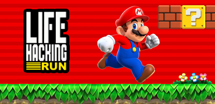 super mario run lifehacking