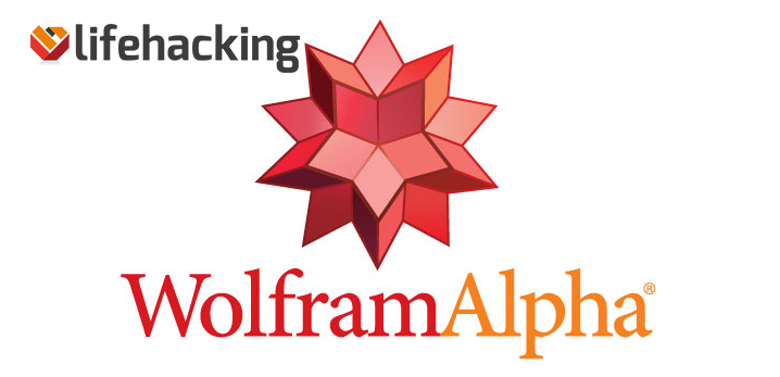 Wolfram Alpha Lifehacking